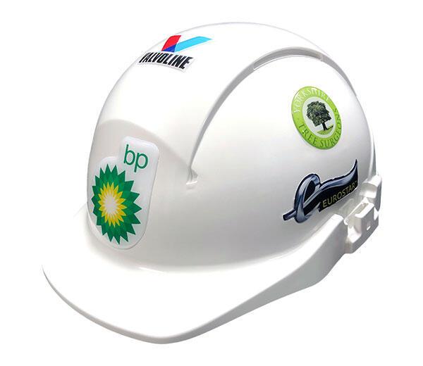 Stickers de casque bombés