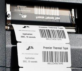 Rouleau thermique d'identification